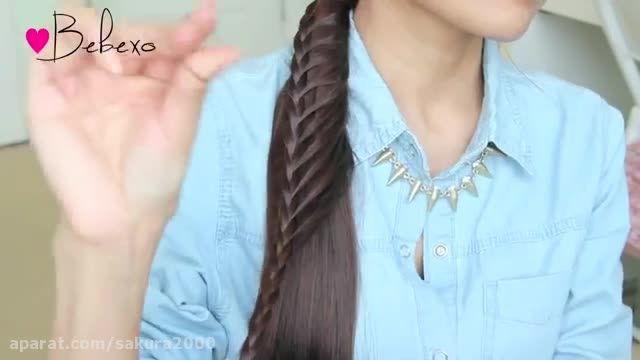 Ladder Braid Ponytail Hairstyle for Medium Long Hair ..