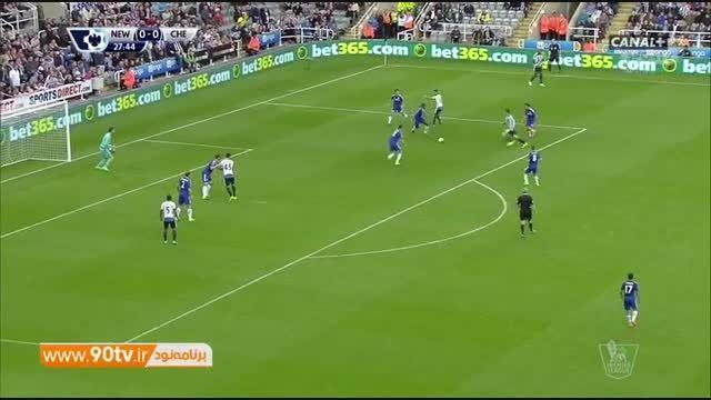 خلاصه بازی: نیوکاسل 2-2 چلسی