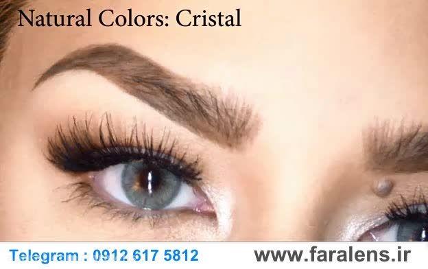 لنز رنگی سولوتیکا نچرال کالرز faralens.ir | Cristal