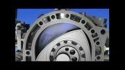 نحوه کار موتور روتاری ?How The Rotary Engine's  Work