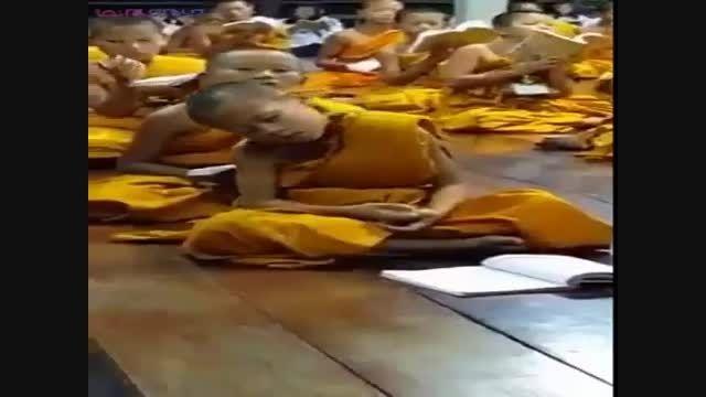 وقتی بودا خوابش می آید+راهب کوچک+فیلم کلیپ گلچین صفاسا