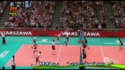 خلاصه بازی سوم والیبال ایران 1 - 3 لهستان