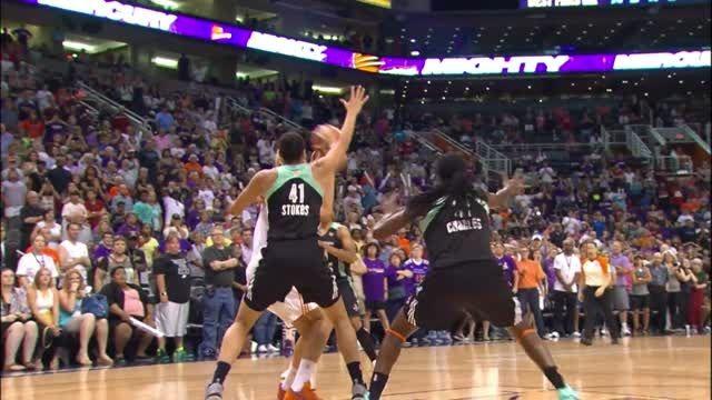 5 حرکت برتر هفته هفتم بسکتبال زنان WNBA