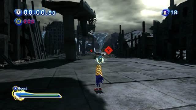 Sonic Generations - Super Sonic VS Perfect Chaos