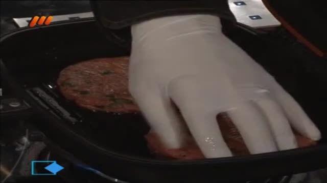 طرز تهیه همبرگر خانگی