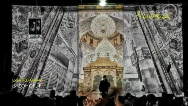 حاج حسین سیب سرخی-هیئت خادم الرضا-شب سوم محرم سال 1394