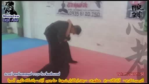 آموزش دفاع شخصی و درگیری خیابانی سنسی محمدرضا ترکاشوند