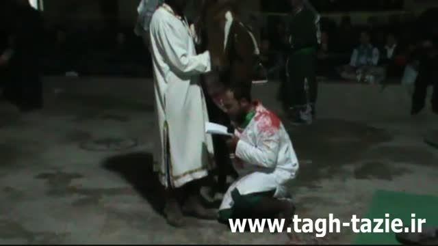 تعزیه حضرت علی اکبر روستای طاق شهرستان دامغان مهر 94