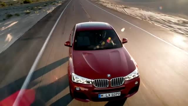 The first-ever BMW X4. Official launchfilm