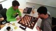 بازی شطرنج برق آسا از مگنوس کارلسن نفر اول شطرنج جهان