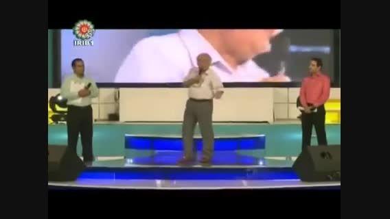 طعنه بهزاد فراهانی به دخترش گلشیفته در برنامه زنده
