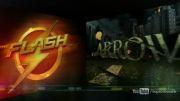 تیزر the flash vs arrow