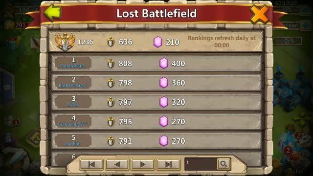 آموزش لاست بتل فیلد   lost battlefield