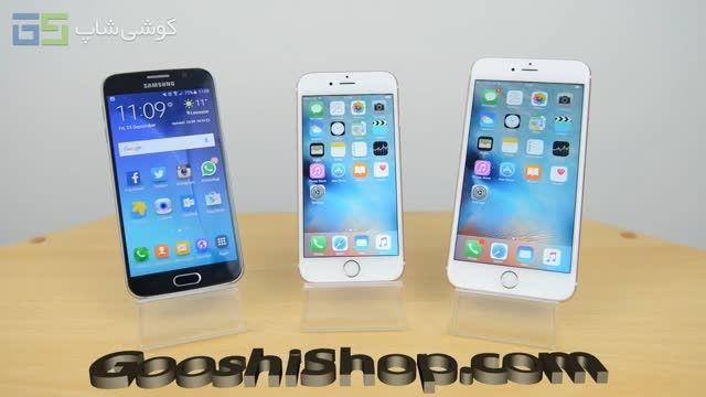 مقایسه بنچمارک Galaxy S6، iPhone 6s و iPhone 6s Plus