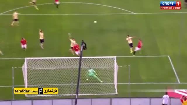 خلاصه بازی منچستریونایتد 1-0 کلوب آمه ریکا
