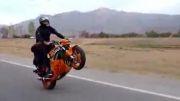 تک چرخ زدن با موتور سنگین (ایرانی)