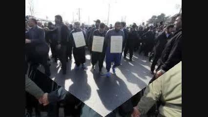 3 شرور مشهد در خیابان ها گردانده شدند( عکس های  3 شرور)