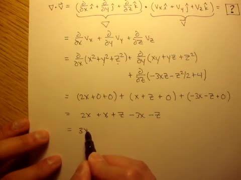 مکانیک سیالات - 17 - نرخ انبساط حجمی: مثال 1