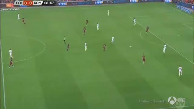 7 دقیقه با تقابل نیمار مقابل رم