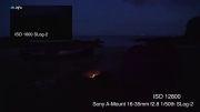 قدرت فیلمبرداری دوربین سونی A7s در تاریکی مطلق