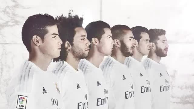 رونمایی از لباس جدید رئال مادرید در فصل 2015 - 2016