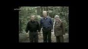 تعارف عجیب وخنده دار!!!(گریه دار) یاسر عرفات به ایهود باراک