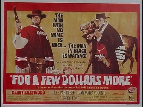 موسیقی ماندگار فیلم وسترن بخاطر چند دلار بیشتر