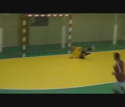 فوتسال بازی کردن کریستیانو رونالدو