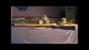 گروه نمایش دبستان در مسابقات نمایش عروسکی آموزشگاهی