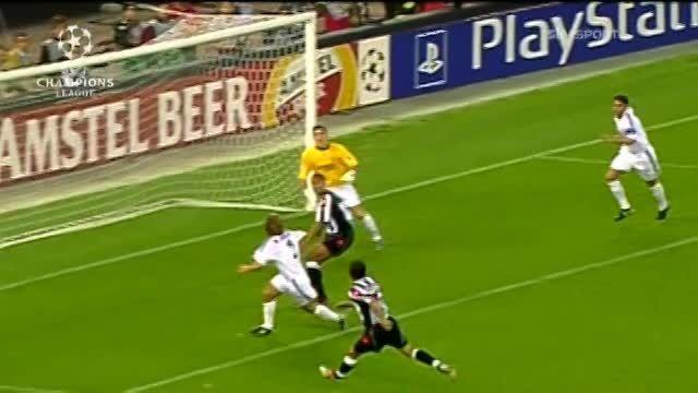 خاطره ها - یوونتوس 3 : 1 رئال مادرید - سال 2002/03
