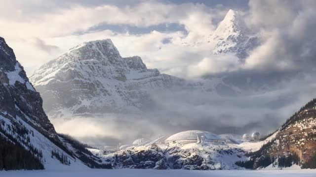 Matte Painting a Sci-Fi Winterscape in Photoshop