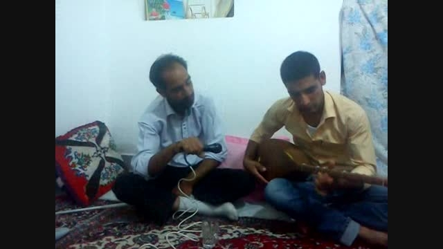 محمد امین عابد دوتار و اقای بدنگ (آهنگ بابا صفر)