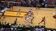 ده بازی برتر لبرون جیمز LeBron James در فصل 13-2012 لیگ بسکتبال NBA