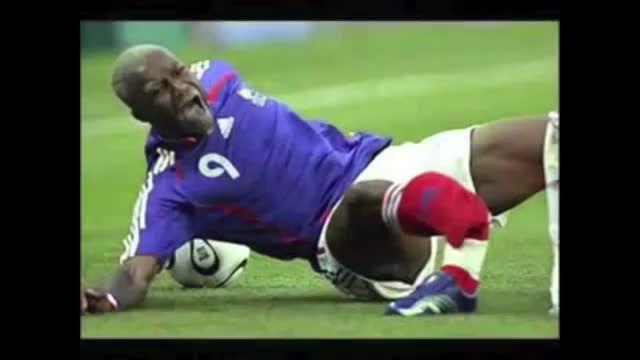 بدترین صدمات در فوتبال !
