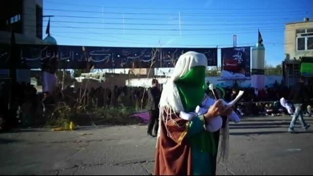 مراسم شبیه خوانی میدان جمهوری اسلامی مهربان قسمت3-94