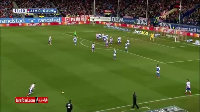 خلاصه بازی اتلتیکو مادرید 3-0 آلمریا