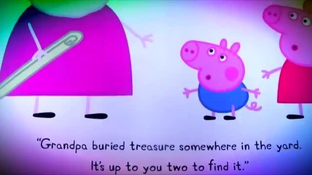 دانلود کتاب داستان انگلیسی Peppa Pig and the Treasure H
