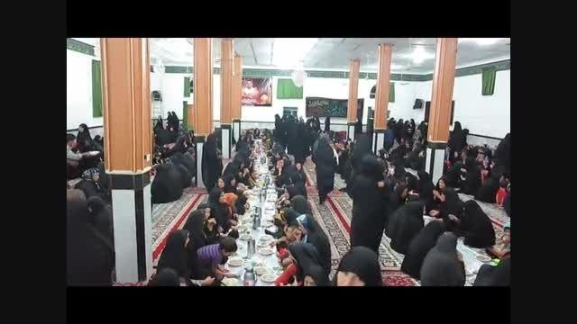 افطاری شب 19 ماه مبارک رمضان در محل حسینیه آقاعلی(2)