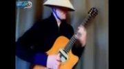 کلیپی دیدنی از یک گیتاریست فوق حرفه ای!!