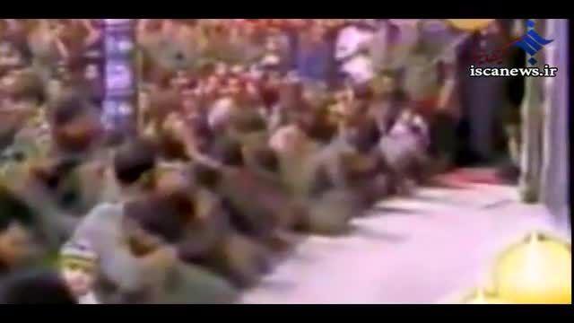 روضه خوانی مرحوم کوثری در محضر امام خمینی ( ره )