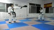 این دختر کاراته کار :)))