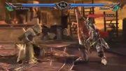 مبارزه اتزیو با Nightmare در بازی Soul Calibur 5-بسیار دیدنی