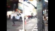 برخورد شدید دو خودرو
