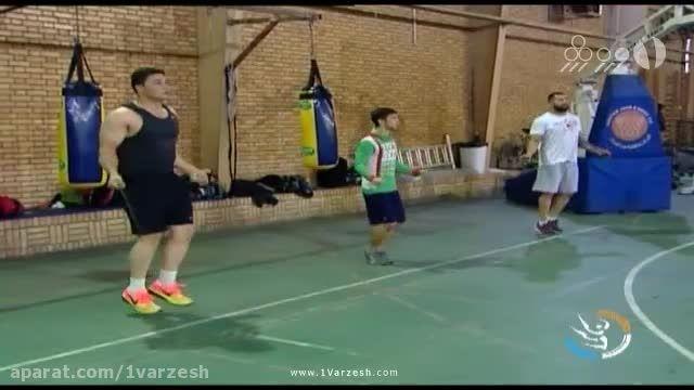 تمرینات آماده سازی تیم ملی بوکس در راه المپیک ریو