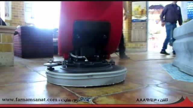 دستگاه شستشوی برقی زمین - اسکرابر Go ایتالیایی