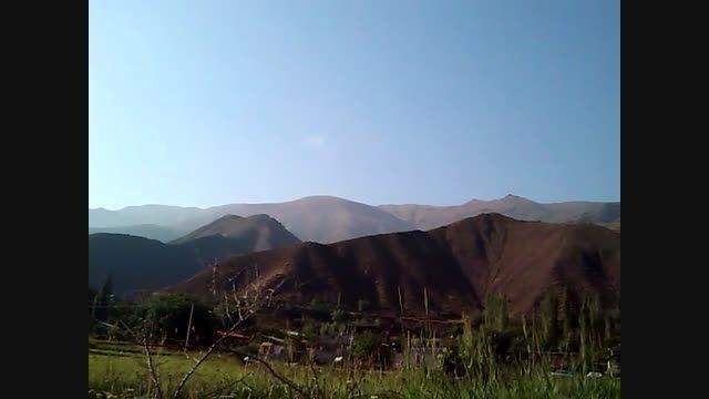 طبیعت روستای سفیددر(منطقه الموت شهرستان قزوین)