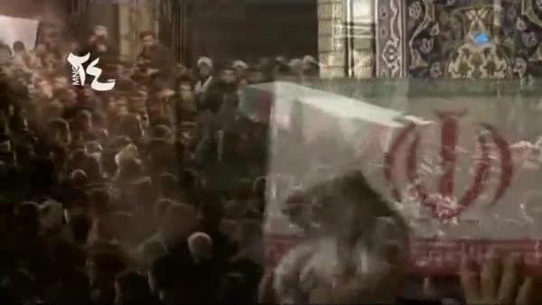 شهید مدافع حرم در مجلس امام حسین (ع)