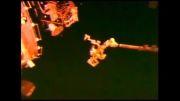 تصاویر دریافتی از عبور بشقاب پرنده توسط ناسا در فضا
