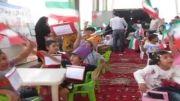 تجمع کودکان سمنانی در حمایت از کودکان غزه
