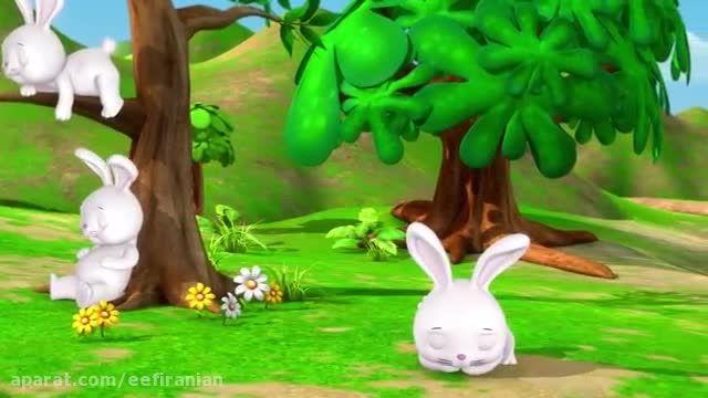 شعر و ترانه شاد انگلیسی کودکانه خرگوش خوابالو